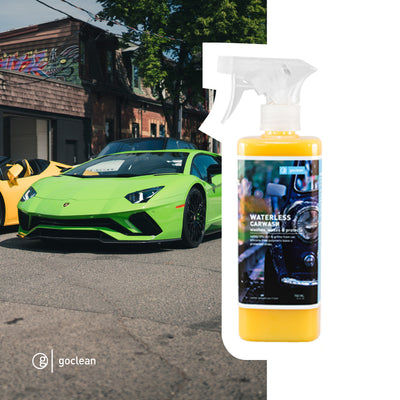 WATERLESS CAR WASH & WAX