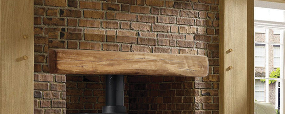 Oak Effect Beam - Dark Oak