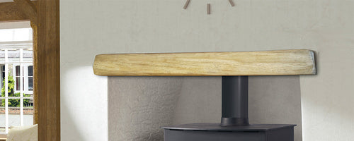 Oak Effect Beam - Light Oak