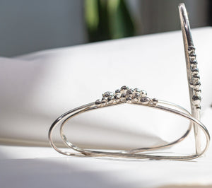 Lava, The Palmcuff - Hot molten silver erupting from a fissure of originality.