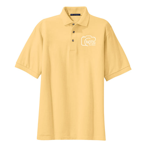 PHOTOG Men's Cotton Pique Polo