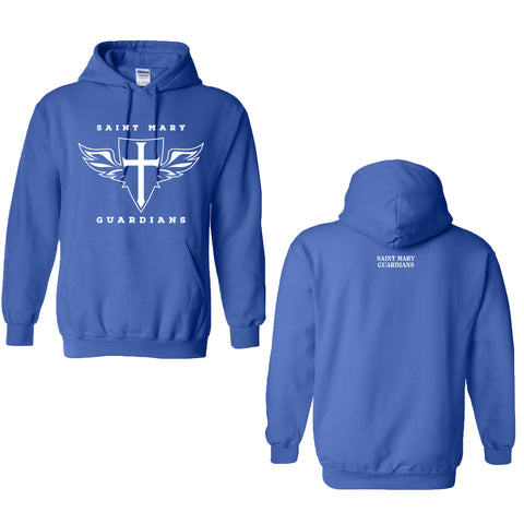 St. Mary Shield - Youth/Adult Hooded Sweatshirt