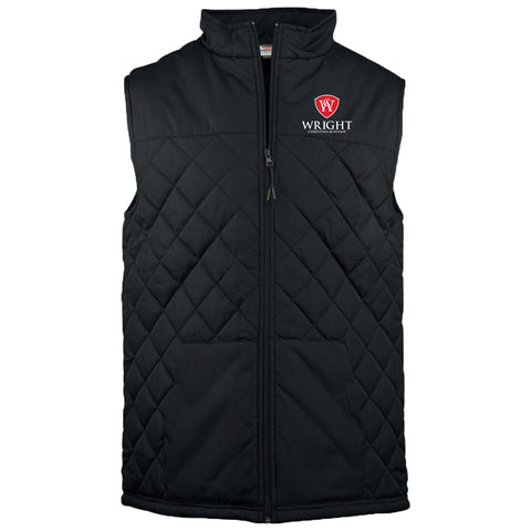 Wright Christian - Quilted Full-Zip Vest