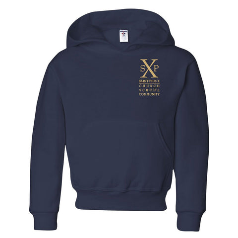 St. Pius X - Youth/Adult Hooded Sweatshirt