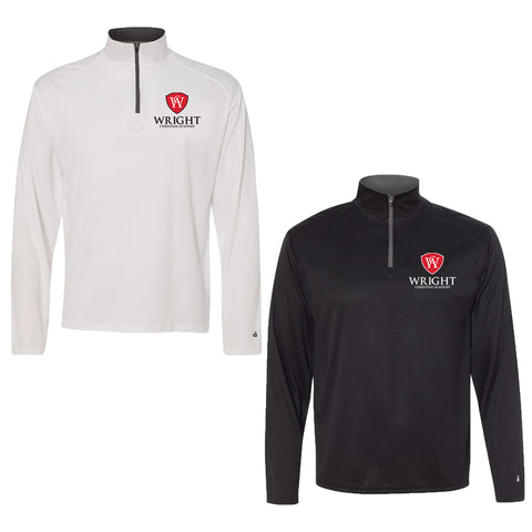 Wright Christian - 1/4 Zip Performance Pullover
