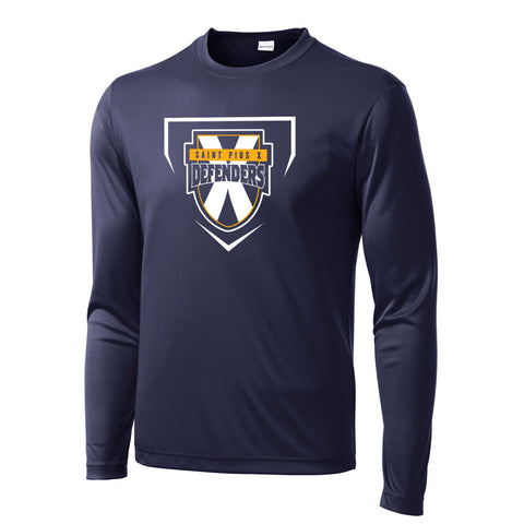 SPX Defenders Baseball - Youth/Adult Long Sleeve Performance Shirt