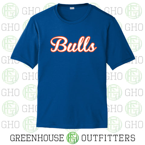 Bulls Baseball - Youth/Adult Performance SS T