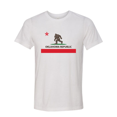 Republic of Bigfoot Unisex Short Sleeve T