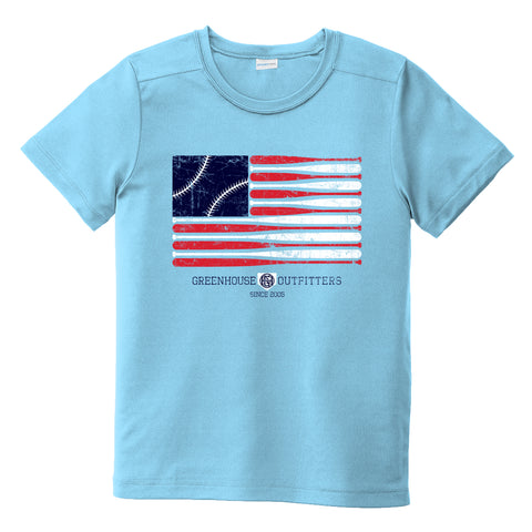 America's Pastime Youth Performance T