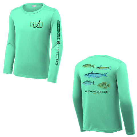 Fish Of Oklahoma Youth/Adult UV Performance Shirt