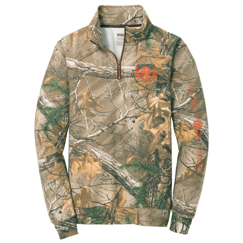 On Point Camo Unisex 1/4 Zip Sweatshirt