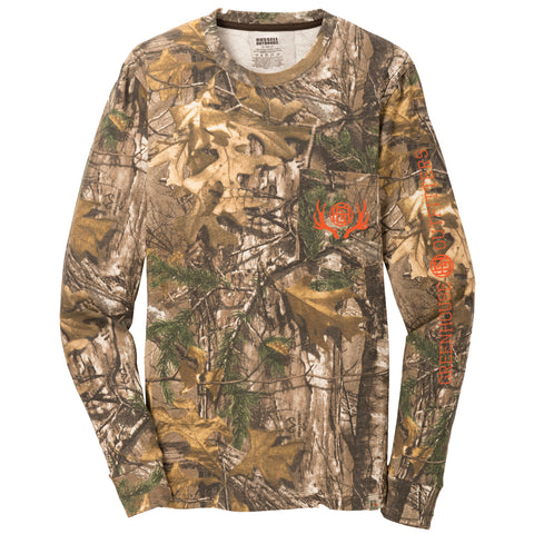 On Point Camo Unisex Long Sleeve Pocket T