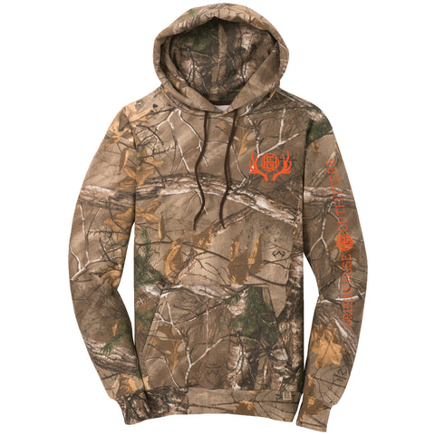 On Point Camo Unisex Hooded Sweatshirt