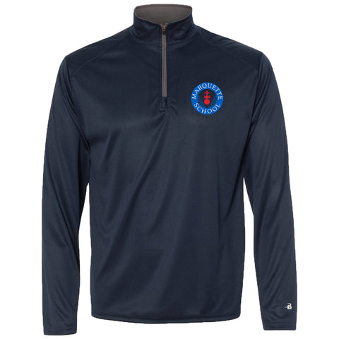 Marquette Spirit - Lightweight 1/4 Zip Performance Pullover