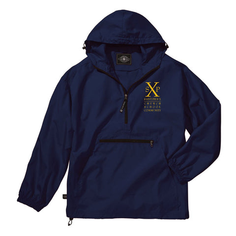 St. Pius X - Youth/Adult Water Restistant Pullover