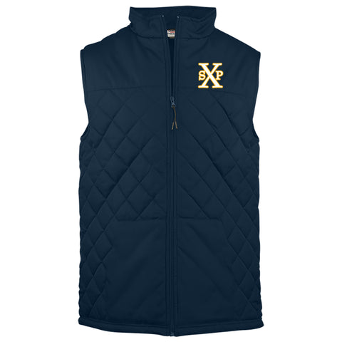 St. Pius X - Quilted Full-Zip Vest
