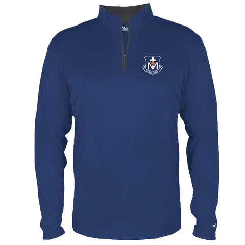 St. Mary Crest Wear - Lightweight 1/4 Zip Performance Pullover