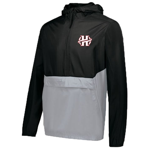 Holland Hall - 1/4 Zip Hooded Packable Pullover