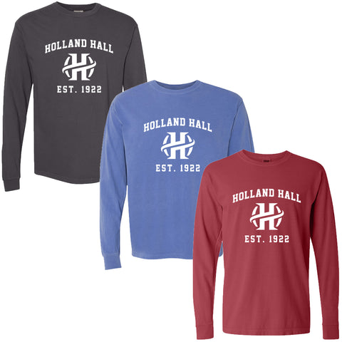 Holland Hall - Garment Dyed Long Sleeve T