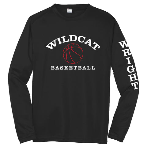 Wright Christian - Basketball Long Sleeve Performance T