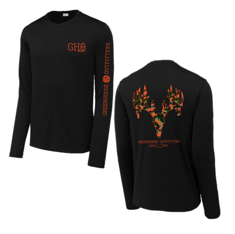Buckshot Youth Performance Long Sleeve T