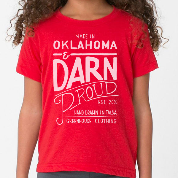 HD Darn Proud Youth Short Sleeve T