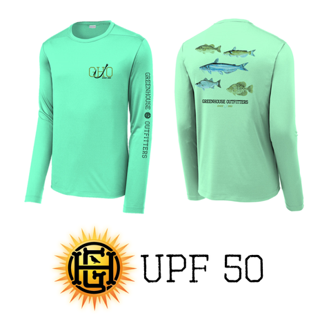 Fish Of Oklahoma Youth Performance Long Sleeve T