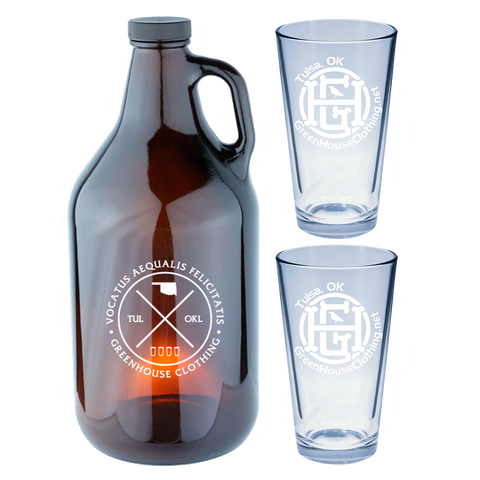 GHC Growler Gift Set
