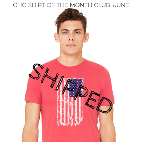 GHC Shirt Of The Month Club (12month)