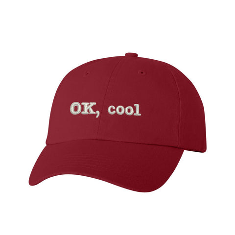 OK, Cool Unstructured Cap