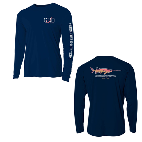Paddlefish Youth/Adult UV Performance Shirt