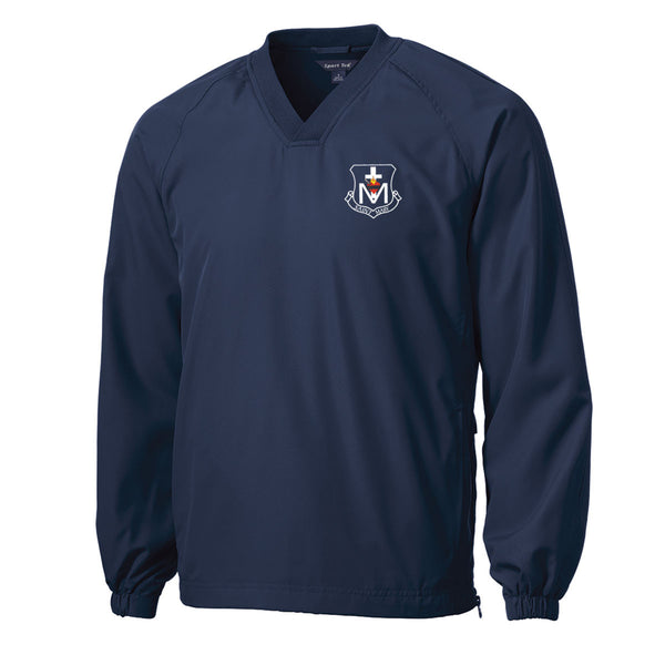 Saint Mary Crest Lightweight Windbreaker