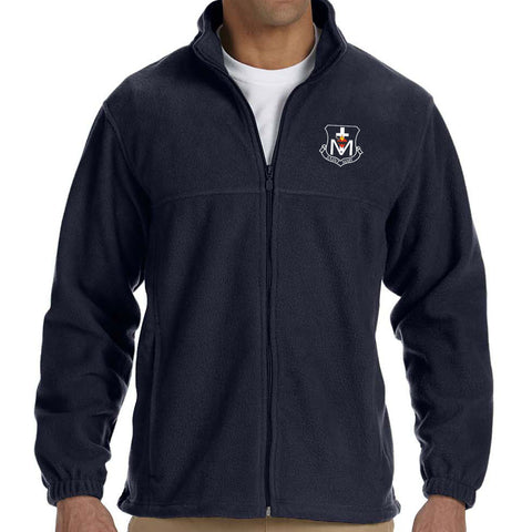 St. Mary Crest Wear - Full Zip Fleece Jacket