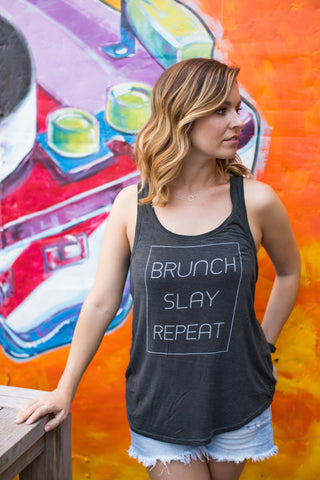 Brunch Slay Repeat Women's Tank