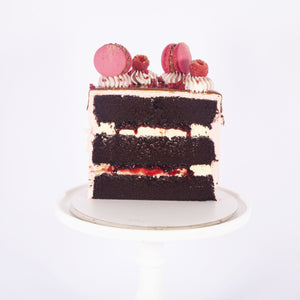 CHOCOLATE & RASPBERRY CAKE (Non gluten containing ingredients)