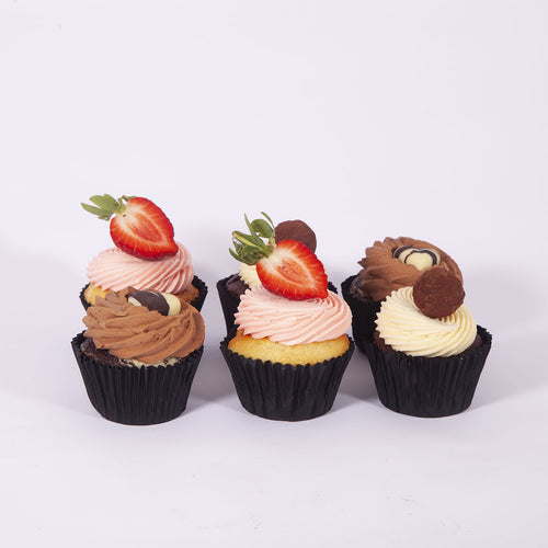 MIXED BOX OF CUPCAKES (Non Gluten Containing Ingredients)