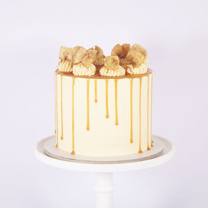 BANOFFEE PIE CAKE (Non gluten containing ingredients)