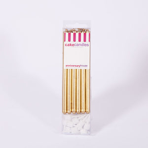 GOLD CANDLES (12)