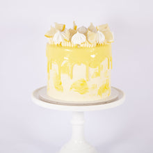 Load image into Gallery viewer, LEMON & PASSION FRUIT TART CAKE (Non gluten containing ingredients)
