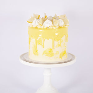 LEMON & PASSION FRUIT TART CAKE (Non gluten containing ingredients)