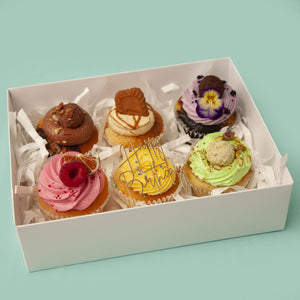 MIXED BOX OF CUPCAKES