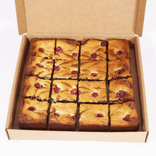 Load image into Gallery viewer, RASPBERRY CHEESECAKE BROWNIES
