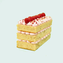 Load image into Gallery viewer, Raspberry & Pistachio Loaf Cake