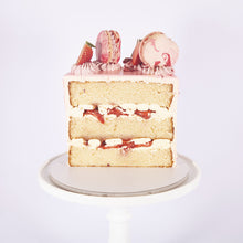 Load image into Gallery viewer, STRAWBERRY CHAMPAGNE CAKE