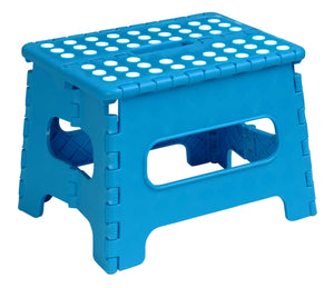 Folding Step Stool with Anti-Slip Surface 9""