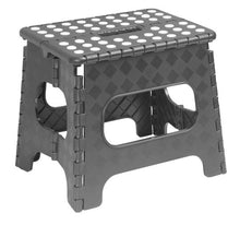 Load image into Gallery viewer, Folding Step Stool with Anti-Slip Surface 13""