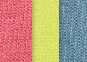 Ultra Micro Fiber Miracle Sponge 3-Pack (Blue - Red -Yellow)