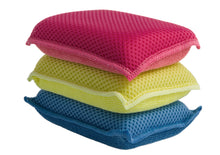 Load image into Gallery viewer, Ultra Micro Fiber Miracle Sponge 3-Pack (Blue - Red -Yellow)