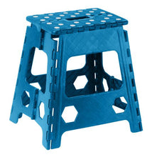 Load image into Gallery viewer, Folding Step Stool with Anti-Slip Surface 15""