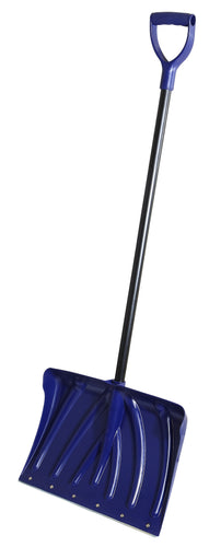 Heavy Duty Snow Shovel with Metal Strip (18 Inch)